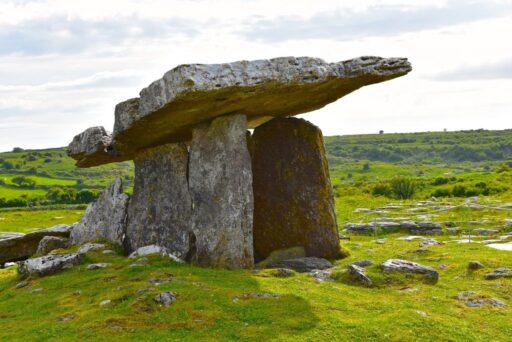Dolmen celta de irlanda donde se enterraban los celtas