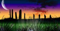 Megalito Stonehenge, símbolos druidas de los celtas