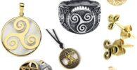 Accesorios, joyas y bisutería celta.