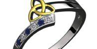 Tienda de anillos celtas con triqueta.