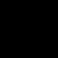 Símbolo Aegishjalmur de color negro.