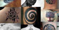 Símbolos celtas y tatuajes celtas.